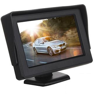 BARVNI LCD ZASLON PZ43-B 4,3 inch ZA KAMERO ZA VZVRATNO VOŽNJO