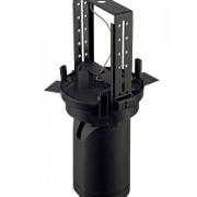VGRADNI IZVLEČNI ZATEMNILNI LED REFLEKTOR BILAS fi 215 mm 20,5W 2700K BELI ALI ČRNI