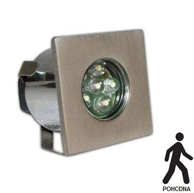 VGRADNA LED SVETILKA VG35B/LED IP65 0,6W INOX