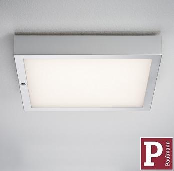 STROPNO STENSKA LED RGB SVETILKA Z DALJINSKIM UPRAVLJANJEM ORBIT 300X300 mm 15W
