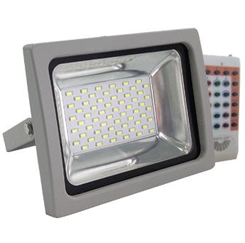 RGB LED REFLEKTOR 30W Z RADIJSKIM DALJINSKIM UPRAVLJANJEM IP65