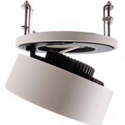 VGRADNA LED SVETILKA BLACK & WHITE fi 127 mm 26W 3000K