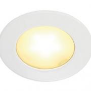 VGRADNA LED SVETILKA DL 126 fi 65 mm 3W 3000K V TREH BARVAH