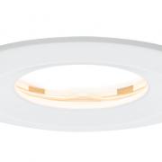 ZATEMNILNA VGRADNA LED SVETILKA PREMIUM SLIM COIN SATIN fi 78 mm 6,8W IP65 V TREH BARVAH