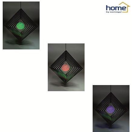 SOLARNA VISEČA RGB LED SVETILKA MX101
