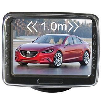 PARKIRNI SENZORJI Z VZVRATNO KAMERO IN BARVNIM LCD ZASLONOM