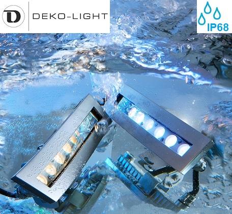 bazenski podvodni led reflektorji, svetila za bazene