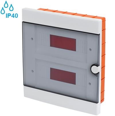 podometna-vgradna-razdelilna-elektro-omarica-vodotesna-ip40-dvoredna-dvovrstna-stiriindvajsetmestna