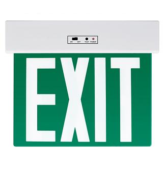 zasilna-varnostna-led-svetilka-razsvetljava-puščica-dol-izhod-EXIT