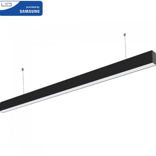 viseča-pisarniška-linijska-sestavljiva-led-svetilka-samsung-1200-mm-črna