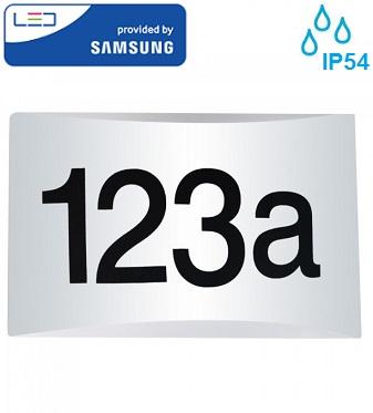 led-hišna-številka