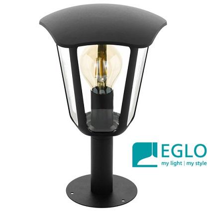 klasični-vrtni-zunanji-stebriček-eglo-E27-črni-330-mm