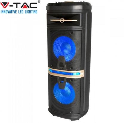 akumulatorski-karaoke-prenosni-zvočnik-120w
