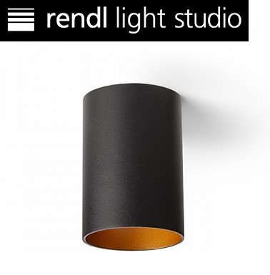 stropni-okrogli-reflektor-podnožje-gu10-črni