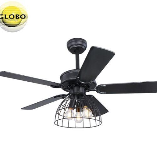 retro-vintage-stropni-ventilator-z-lučjo-črni