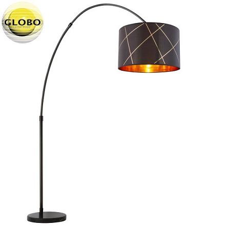 stoječa-dekorativna-tekstilna-svetilka-črna