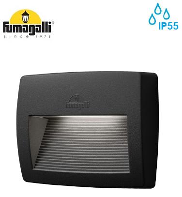zunanja-vgradna-led-svetilka-za-škarpo-stopnice-ip55-fumagalli-4000K-črna