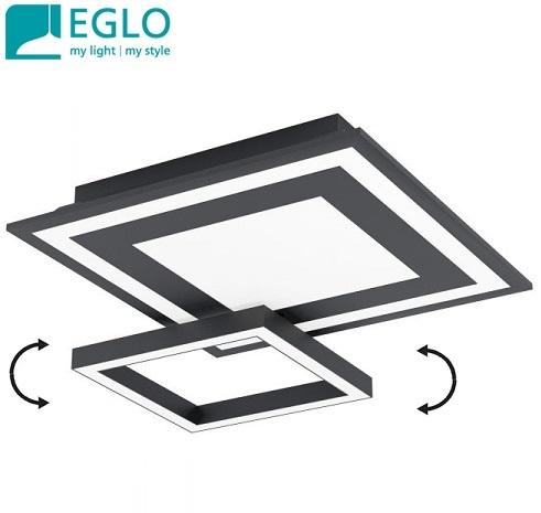 stropna-pametna-led-svetilka-eglo-connect-črna