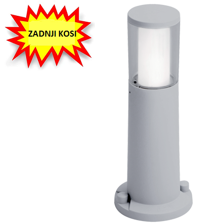 VRTNI LED STEBRIČEK CARLO 400 mm GU10 3,5W 4000K IP55 (še 1 kos)