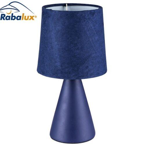 namizna-keramična-tekstilna-svetilka-za-nočno-omarico-modra