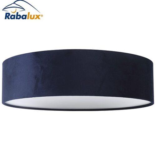stropna-svetilka-iz-žameta-modra