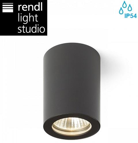 stropni-reflektor-gu10-za-kopalnico-zunanja-svetilka-črna-ip54
